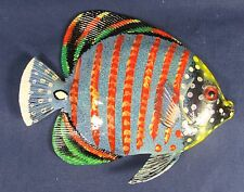 "Tropical Reef Fish Wall Plaque Nautical Art Home Decor 6"" RF6-2"