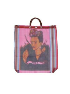 Frida Kahlo Mexican Mesh Market Bag