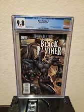 CGC 9.8 BLACK PANTHER 1 1st SHURI as BP Variant J. Scott Campbell 2009 Cover