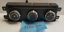 Chrysler Dodge Rear Heater Air Conditioning A/C Climate HVAC Controls