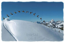 POSTER Inverted Cab 5 Snowboarder 24x36 Studio B