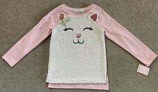 """Cynthia Rowley """"cat"""" Top In Girls Size S/7-8 NWT"""