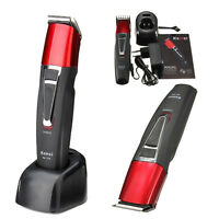 Rechargeable Men Electric Shaver Razor Beard Hair Clipper Trimmer Grooming Set
