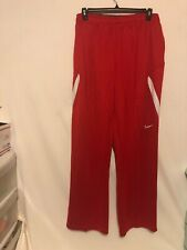 Nike Dri-Fit Travel Training Pants Mens 4XL XXXXL 621944 685 Red $70