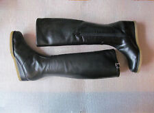 New Rue du Jour Lima Riding Boots Nappa Leather  size 5 $905