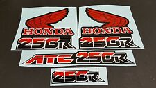 1986 HONDA ATC 250R DECALS GRAPHICS STICKER  ATC250R  FITS 1985 1986 1987 1988