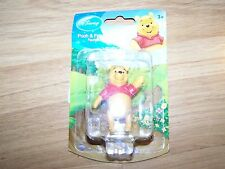 Disney Winnie the Pooh Bear PVC Figure Toy Cake Topper New 2.5""