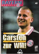 Bayern Magazin 11/49 , Bayern München - Hansa Rostock , 07.02.1998