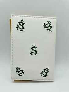 Shoreacres Golf Club Leather Embroidered Scorecard Holder Members Only Mint Rare