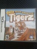 Petz Wild Animals: Tigerz Nintendo DS Kids Game Complete Pets Tigers FREE SHIP