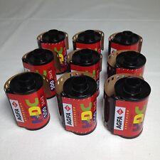 9 x Agfa Agfacolor HDC Plus 100 Film 135 - 27 Farbfilm Foto Photo Lomo FROZEN!