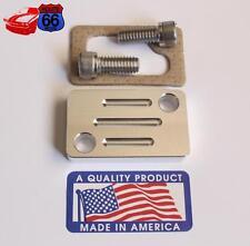 Hot Air Choke Tube Delete/Block Off Plate Small Block Chevy 1976-1985