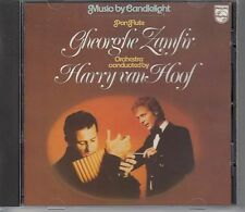 ZAMFIR & VAN HOOF - MUSIC BY CANDLELIGHT / RED SWIRL WEST GERMANY PHILIPS /  CD.