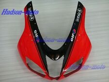 Front Nose Cowl Upper Fairing For Kawasaki Ninja ZX6R 2007-2008 ZX-6R Red/Black