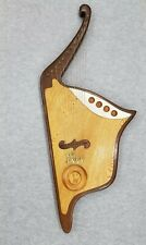 Mr Spock Star Trek Vulcan Lyre Harp autographed by Dominick Giovanniello 1980's