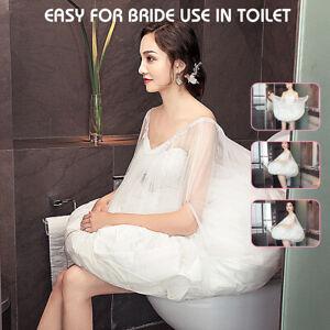 Toilet Petticoat For Bridal Wedding Dress Gather Skirt Underskirt Slip Crinoline
