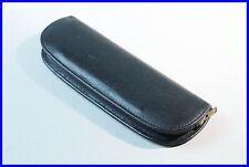 1930ies BLACK Leather PELIKAN pouch / etui / for 2 FOUNTAIN pens ballpoint
