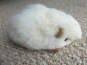 Handmade Peruvian Stuffed Guinea Pig with Alpaca Fur