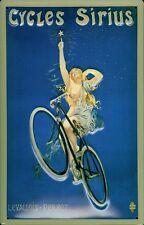 Cycles Sirius Fahrrad Blechschild Schild 3D geprägt gewölbt Tin Sign 20 x 30 cm