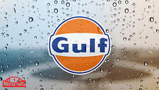 Gulf Fenster Aufkleber 100 mm sticker - Zugelassen von Gulf Oil UK