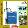 20Ltr Knapsack backpack sprayer chemical pressure garden for water weed killer