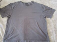 "Mens 48"" Saltrock grey T-Shirt short sleeve top"