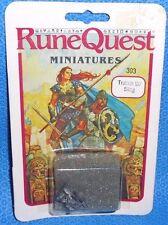 Runequest Miniatures Troll-Kin w/ Sling Metal NIB Citadel 25mm