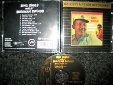 MFSL Gold CD Bing Crosby, Buddy Bregman Bing Sings Whilst Bregman Swings Jazz
