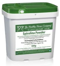 Spirulina Powder 500g Tub (Blue-Green Algae, Vitamins, Minerals)