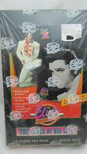 Elvis Presley The Cards of His Life Trading Cards Sealed Box Series 2