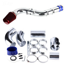 76mm Car Ducting Air Intake System Aluminum Pipe Inlet Tube Hose Kit Air filter