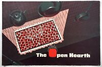 1963 Vintage Menu THE OPEN HEARTH Restaurant Philadelphia & Melrose Park PA