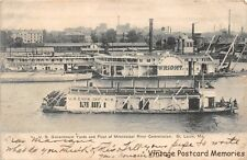 ST LOUIS MO 1901-07 US Government Yards & Fleet of Mississippi River Commission