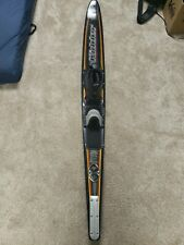 New listing Kidder Redline Pro Graphite Slalom Water Ski 67� Made in Usa w Radar Boot
