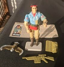 G.I. Joe Spirit and Freedom complete with Card 1984 Vintage