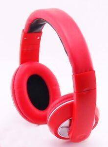 Over-Head Stereo Earphones Headset Headphones w/ Mic for Note 8,S8 & Iphone