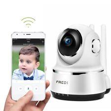 WiFi 720P PTZ Home Security Spy Surveillance Nanny Camera Night Vision 2WayAudio