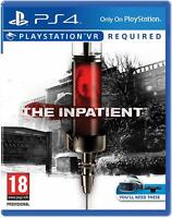 The Inpatient (VR Required) Playstation 4 PS4 **FREE UK POSTAGE!!**
