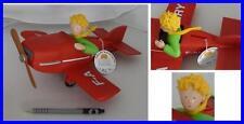 Figura Salvadanaio PICCOLO PRINCIPE e Aereo 27cm Originale PLASTOYS Petit Prince