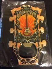 Hard Rock Cafe Toronto Canada Guitar Head Bottle Opener Magnet V7