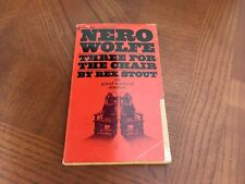 NERO WOLFE THEE FOR THE CHAIR PAPERBACK BOOK BY REX STOUT (BANTAM F3120)