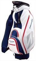 BRIDGESTONE Golf Men's Caddy Bag TOUR B Lightweight Sporty Model CBG821 White