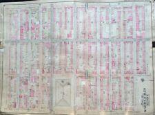 Org 1904 E.B. Hyde Crown Heights Brooklyn Ny P.S.44 Tompkins Park Plat Atlas Map