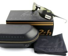 Polarized Serengeti NUVOLA Le Mans 24h Satin Black PhD 555 Green Sunglasses 8481