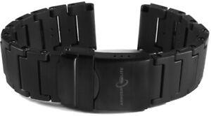 ArmourLite - Replacement Black Polyurethane Bracelet IPU100 Isobrite Watch 22mm