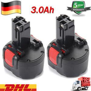 2X 3AH AKKU Für Bosch BAT048 BAT100 BAT049 BAT119 PSR 960 2607335461 2607335260