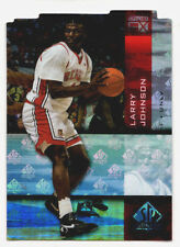 2010-11 UD SP Authentic LARRY JOHNSON Special Holo F/X Diecut UNLV Rebels #35