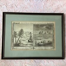 Millars 1780 Engraving Complete Universal Sytem Taking Wild Duck & Catching Fish
