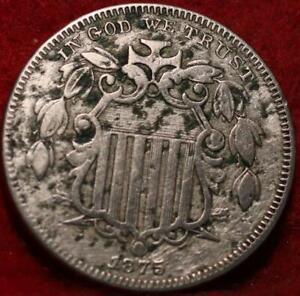 1875 Philadelphia Mint Shield Nickel