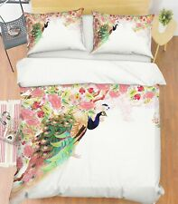 3D Beautiful Noble Peacock Kep9292 Bed Pillowcases Quilt Duvet Cover Kay